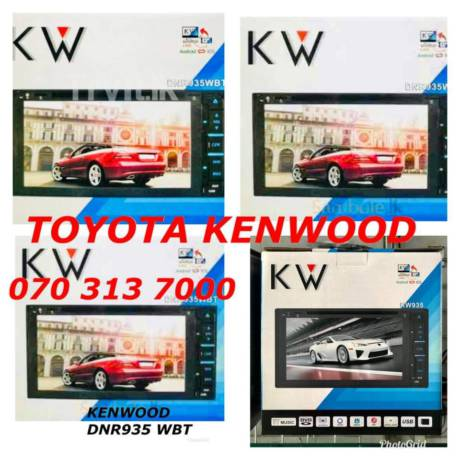Toyota Kenwood Car DVD Setup in Maharagama