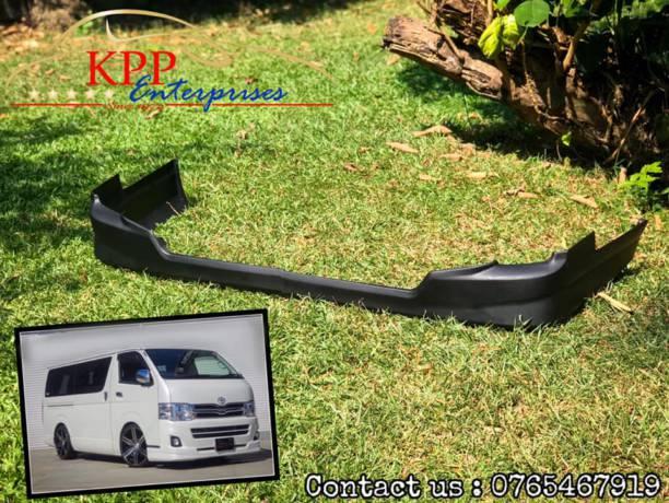 Toyota Hiace 2011 – 2013 TRD front Lip ( bodykit )