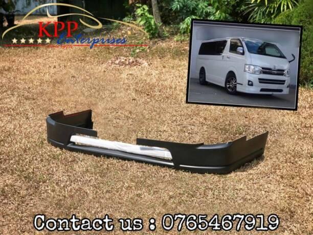 Toyota Hiace 200 series Modellista front Lip ( bodykit )